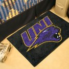 "University of Northern Iowa UNI 19""x30"" carpeted bed mat/door mat"