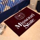 """Missouri State 19""""x30"""" carpeted bed mat/door mat"""
