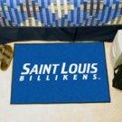"""St. Louis University Billikens 19""""x30"""" carpeted bed mat/door mat"""
