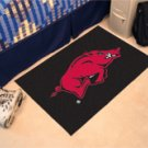 "University of Arkansas 19""x30"" carpeted bed mat/door mat"