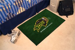 "North Dakota State University NDSU 19""x30"" carpeted bed mat/door mat"