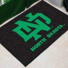 "University of North Dakota 19""x30"" carpeted bed mat/door mat"