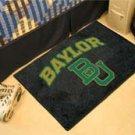 """Baylor University BU 19""""x30"""" carpeted bed mat/door mat"""