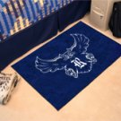 "Rice University 19""x30"" carpeted bed mat/door mat"