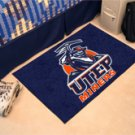 "University of Texas El Paso UTEP Miners 19""x30"" carpeted bed mat/door mat"