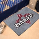 "New Mexico State University 19""x30"" carpeted bed mat/door mat"