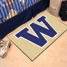 "University of Washington Huskies 19""x30"" carpeted bed mat/door mat"