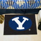 "Brigham Young University BYU 19""x30"" carpeted bed mat/door mat"