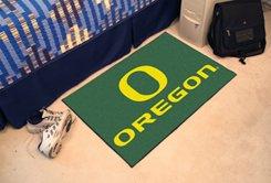 "University of Oregon 19""x30"" carpeted bed mat/door mat"