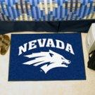 "University of Nevada 19""x30"" carpeted bed mat/door mat"