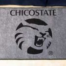 "California State University Chico/ChicoSate 19""x30"" carpeted bed mat/door mat"