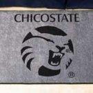 "California State University Chico/ChicoSate 19""x30"" carpeted bed mat/door mat"