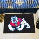 "Fresno State 19""x30"" carpeted bed mat/door mat"
