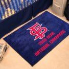 "Fresno State 2008 Baseball NCAA Champions 19""x30"" carpeted bed mat/door mat"