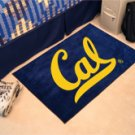 "University of California Berkely Cal 19""x30"" carpeted bed mat/door mat"