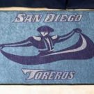 "University of San Diego Toreros 19""x30"" carpeted bed mat/door mat"