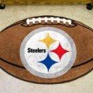 "NFL-Pittsburgh Steelers 22""x35"" Football Shape Area Rug"