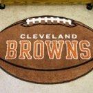 "NFL-Cleveland Browns 22""x35"" Football Shape Area Rug"
