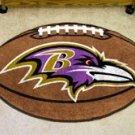 "NFL-Baltimore Ravens 22""x35"" Football Shape Area Rug"