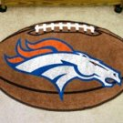 "NFL-Denver Broncos 22""x35"" Football Shape Area Rug"