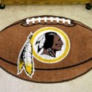 "NFL-Washington Redskins 22""x35"" Football Shape Area Rug"