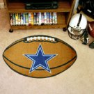 "NFL-Dallas Cowboys 22""x35"" Football Shape Area Rug"