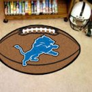 "NFL-Detroit Lions 22""x35"" Football Shape Area Rug"