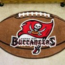 "NFL-Tampa Bay Buccaneers 22""x35"" Football Shape Area Rug"