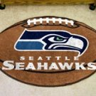 "NFL-Seattle Seahawks 22""x35"" Football Shape Area Rug"
