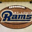 """NFL-St. Louis Rams 22""""x35"""" Football Shape Area Rug"""