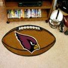 "NFL-Arizona Cardinals 22""x35"" Football Shape Area Rug"