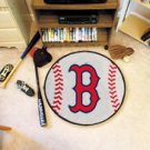 "MLB-Boston Red Sox 29"" Round Baseball Rug"