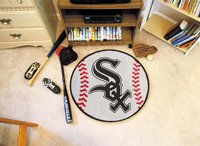 "MLB-Chicago White Sox 29"" Round Baseball Rug"