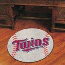 """MLB-Minnesota Twins 29"""" Round Baseball Rug"""