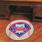 "MLB-Philadelphia Phillies 29"" Round Baseball Rug"