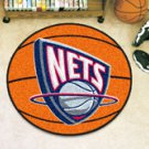 "NBA-New Jersey Nets 29"" Round Basketball Rug"
