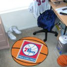 "NBA-Philadelphia 76ers 29"" Round Basketball Rug"