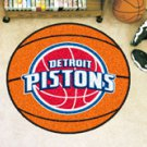 "NBA-Detroit Pistons 29"" Round Basketball Rug"