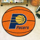 """NBA-Indiana Pacers 29"""" Round Basketball Rug"""