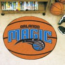 "NBA-Orlando Magic 29"" Round Basketball Rug"