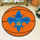 "NBA-New Orleans Hornets 29"" Round Basketball Rug"