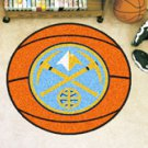 "NBA-Denver Nuggets 29"" Round Basketball Rug"
