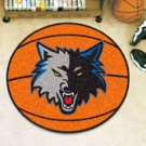 "NBA-Minnesota Timberwolves 29"" Round Basketball Rug"