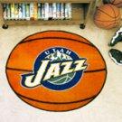 """NBA-Utah Jazz 29"""" Round Basketball Rug"""