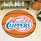 """NBA-Los Angeles Clippers 29"""" Round Basketball Rug"""