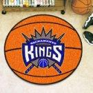 """NBA-Sacramento Kings 29"""" Round Basketball Rug"""
