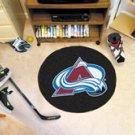"NHL-Colorado Avalanche 29"" Round Hockey Puck Rug"
