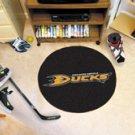 """NHL-Anaheim Ducks 29"""" Round Hockey Puck Rug"""