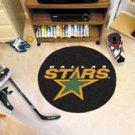 "NHL-Dallas Stars 29"" Round Hockey Puck Rug"