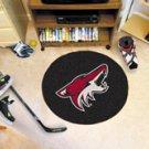 "NHL-Phoenix Coyotes 29"" Round Hockey Puck Rug"